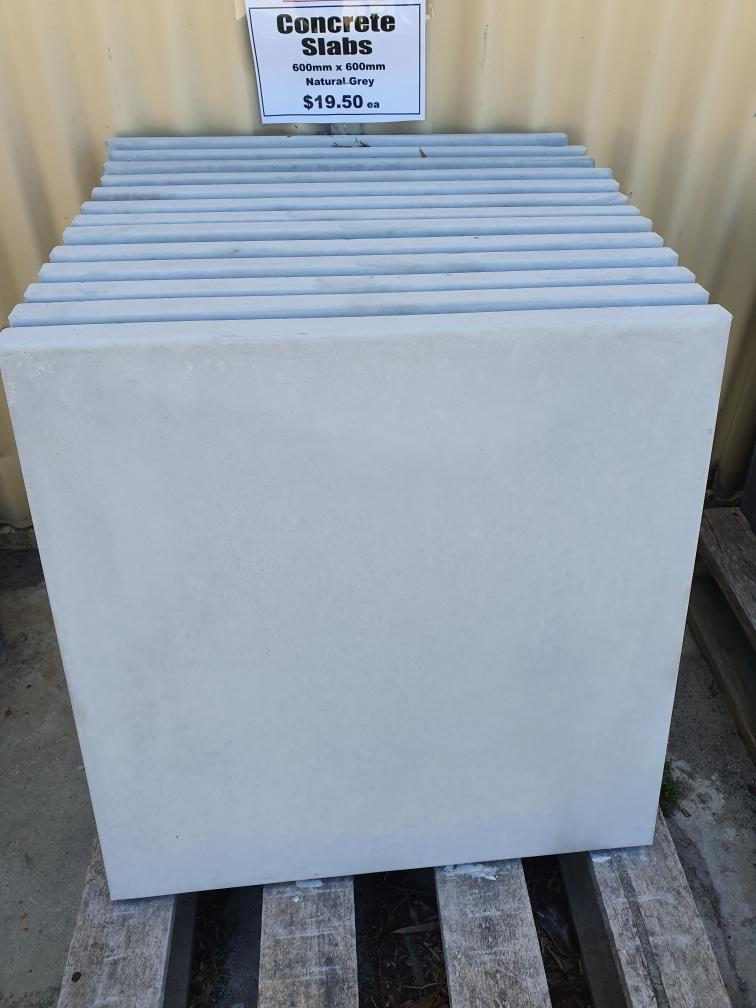 Concrete slabs