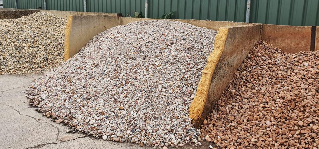 Garden gravels and pebbles in Victor Harbor