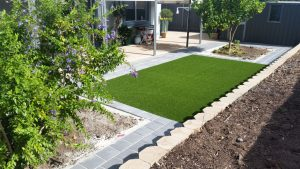 Artificial turf provides a great alternative to lawn