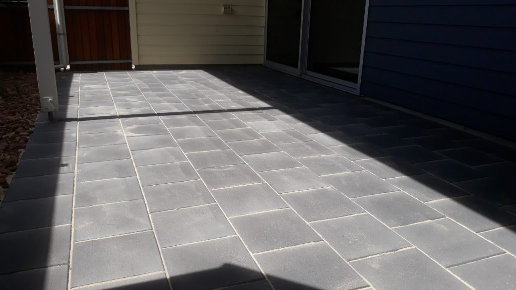 Fleurieu Stone pavers are ideal for a pergola or path.