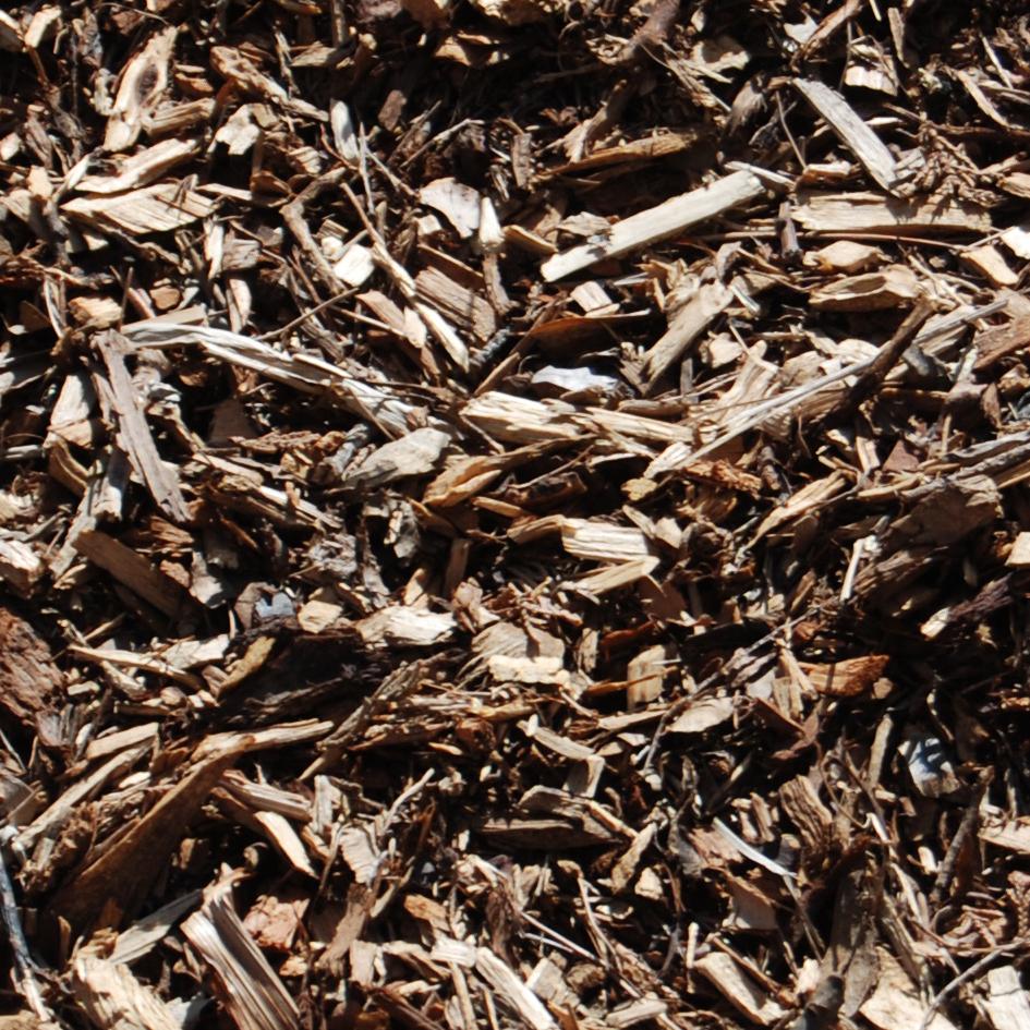 Landscape leaf mulch