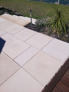 Fleurieu Stone blocks used in steps and paving